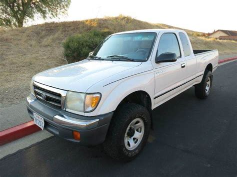 2000 Toyota Tacoma Mpg by 2000 Toyota Tacoma Prerunner Xtracab V6 2wd In Pinole Ca