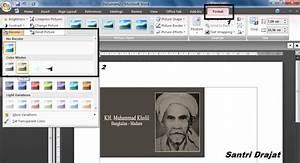 Membuat Foto Warna Menjadi Hitam Putih di Microsoft Word ...