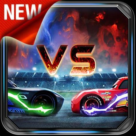 Lightning Mcqueen Vs Jackson Storm For Android