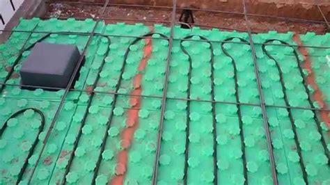 Crete Heat Slab Insulation Radiant Floor Heating   YouTube