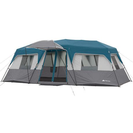 ozark trail 12 person instant cabin tent with screen room ozark trail 12 person instant cabin tent walmart canada
