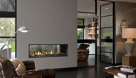 Double Sided Fireplaces In Calgary Hearth Home