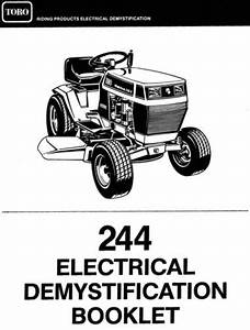 Tractor 1993 244-series Wiring Detailed Pdf - 1991-1997