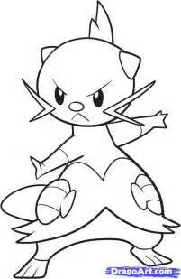 Pokemon Dewott Coloring Pages