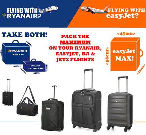 ryanair easyjet british airways ba max hand cabin luggage