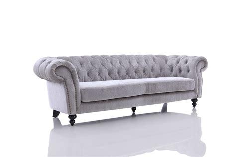 And Grey Sofa by Divani Casa Alexandrina Grey Tufted Fabric Sofa Set