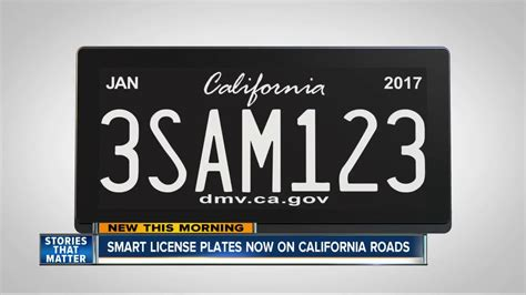 California Licence Plate Search by Smart License Plates Hitting California Roads