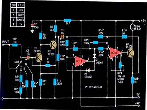 Identify Diagram  How To Measure Ac Milli Volts Using Ic