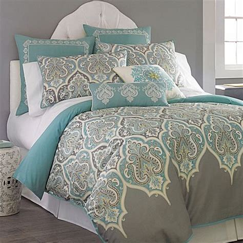 gray  turquoise guest bedroom culture scribe