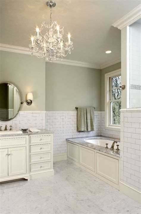 Green Color Bathroom by Hendel Homes Gorgeous Green Bathroom With
