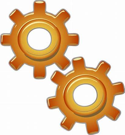 Clip Gears Engine Motor Motion Clipart Svg