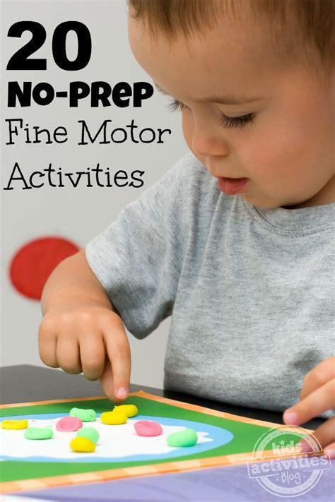 20 no prep motor skills activities 535 | Fine Motor Activities