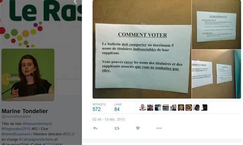 le bureau henin beaumont hénin beaumont des consignes trompeuses pour aider à voter