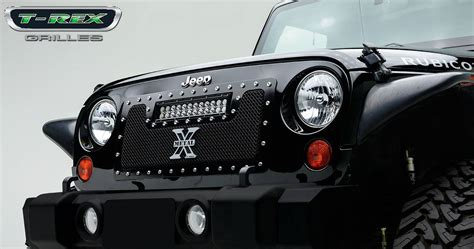 Jeep Wrangler Torch Series Led Light Grille 1 12 Quot Led