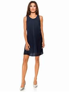 robes elegantes robe droite bleu marine et blanc With robe droite ete
