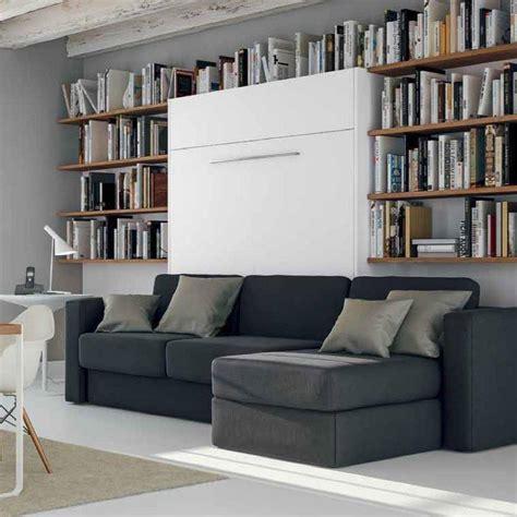 canapé lit escamotable armoire lit escamotable avec canapé intégré au meilleur