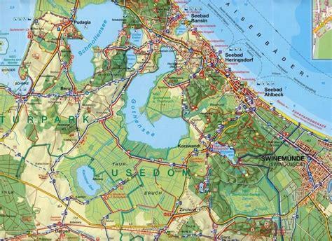 Nordland Karte Usedom - Landkarten portofrei bei bücher.de