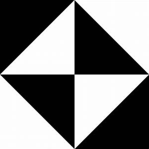 Black And White Geometric Shapes Clip Art at Clker.com ...