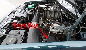 Fuse Box Diagram Ford Bronco  1992