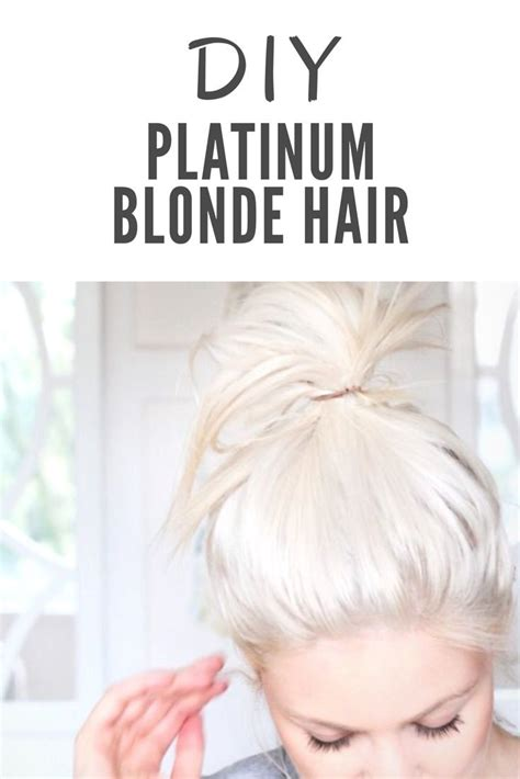Platinum Blonde Hair A Diy Guide Hair And Beauty