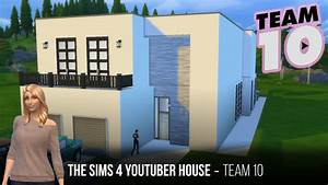 The sims 4 youtuber home team10 part2 second floor for How to make a second floor on sims freeplay