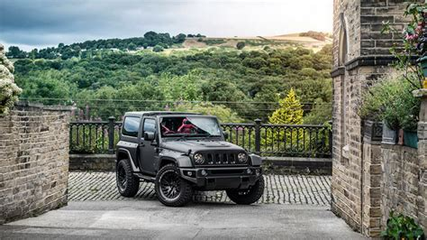 jeep truck black project kahn showcases the wrangler black hawk edition