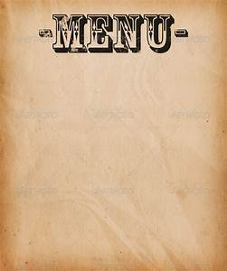 Vintage Menu Background Stock Photo by BackgroundStore ...