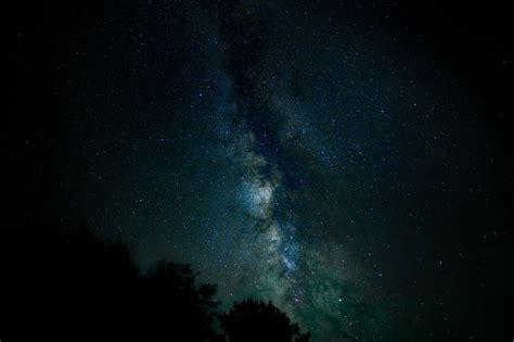Wallpaper Starry Sky Stars Milky Way Night Hd