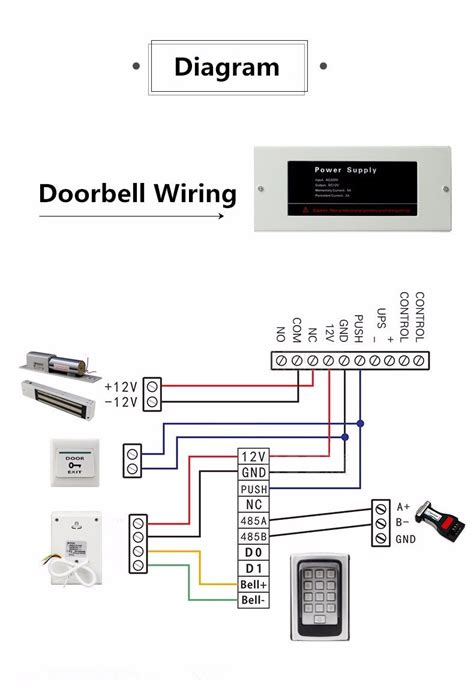 2 Chime Doorbell Wiring Diagram Doorbell Wiring