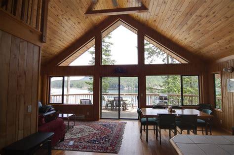 bedroom loft chalet  floor  ceiling windows