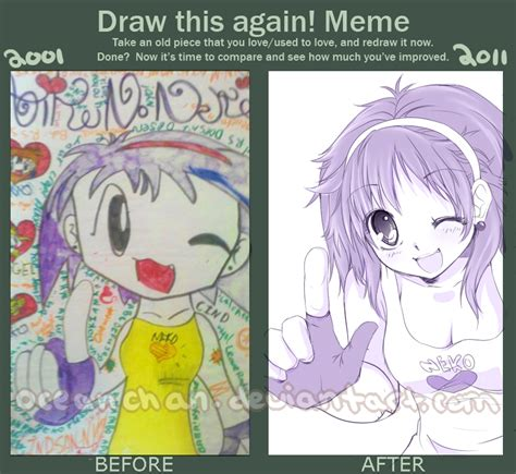 Deviantart Memes - draw this again meme by oceantann on deviantart