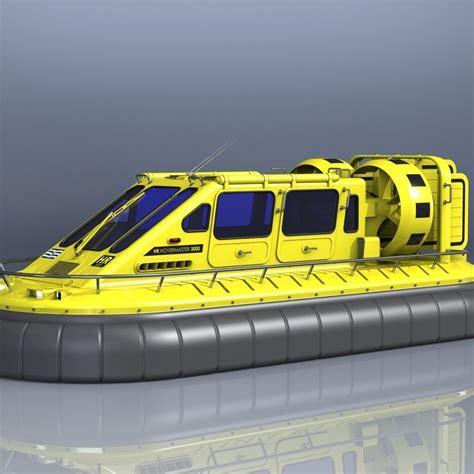 Hovercraft | CGTrader