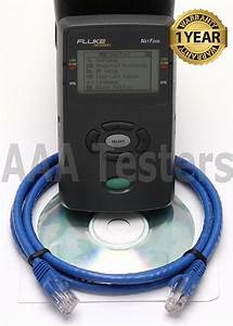 Fluke Network Cable Tester Manuals