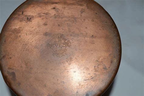 vintage copper cookware  revere called chick whistling