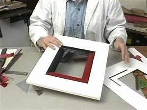 comment faire des cadres peinture decoration youtube With faire un cadre de porte