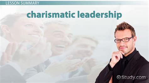 charisma  leadership definition explanation