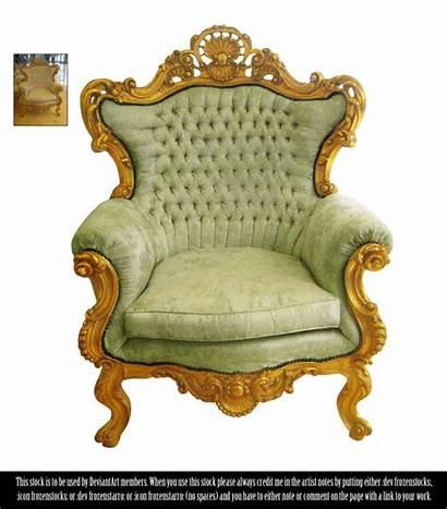 Chair Victorian Deviantart Frozenstocks Restricted Transparent Pluspng