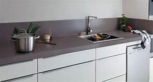 peinture multi supports pour repeindre sa cuisine With peindre plan de travail carrele cuisine
