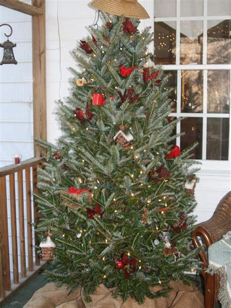 garden inspired christmas tree hgtv