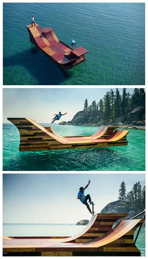 Skate Ramp On Water