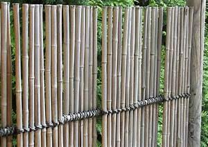 Sichtschutzzaun Bambus Holz : zaun spaliere bambus japan geschlossener sichtschutzzaun ~ Markanthonyermac.com Haus und Dekorationen