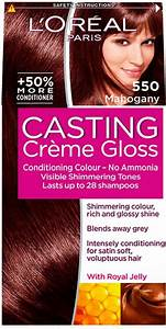 Review And Results Of Loreal Casting Creme Gloss In 550