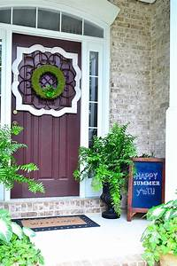 A Southern Summer Home Tour 2014 - At The Picket Fence