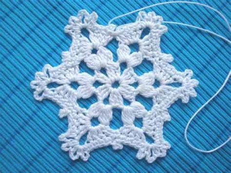 25+ Bästa Crochet Snowflakes Idéerna På Pinterest