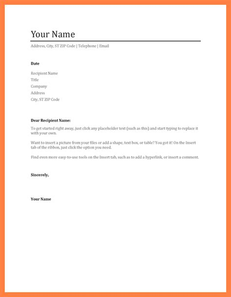 4 resume letterhead templates company letterhead