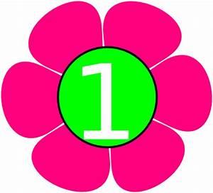 1 Pink Green Flower Clip Art at Clker.com - vector clip ...