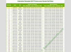 Calendrier ramadan 2017 Download 2019 Calendar Printable