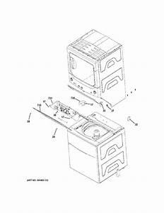 Ge Model Gtup270em1ww Laundry Centers  Combos Genuine Parts