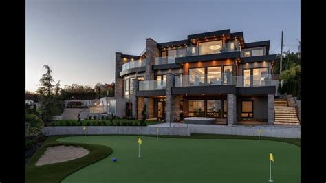 luxury mansion  west vancouver  million
