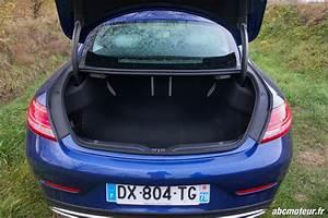 Coffre Mercedes Classe A : essai mercedes classe c coup l gante mais trop sage ~ Gottalentnigeria.com Avis de Voitures